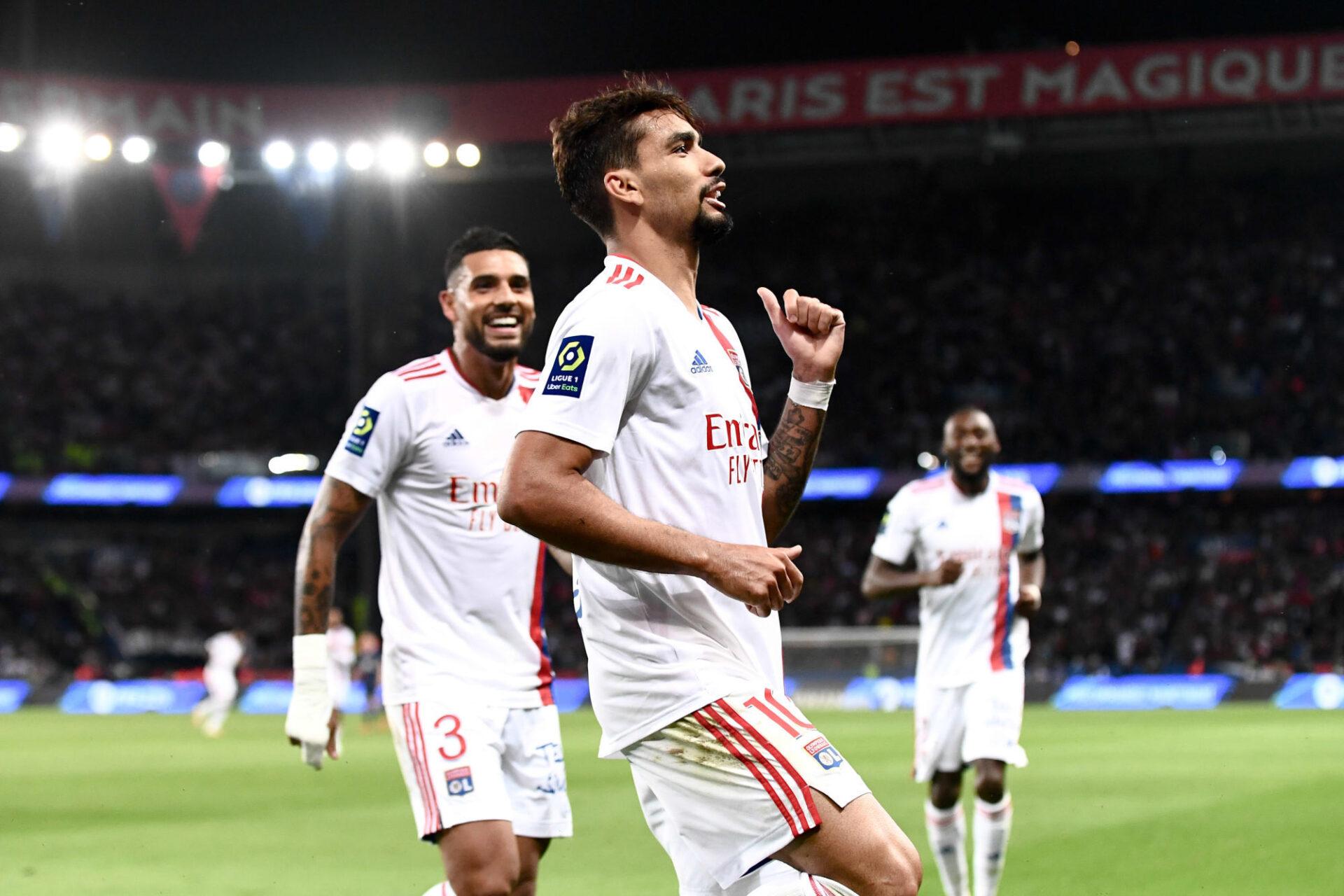 Lucas Paqueta peut de nouveau danser la samba à Lyon... Icon Sport