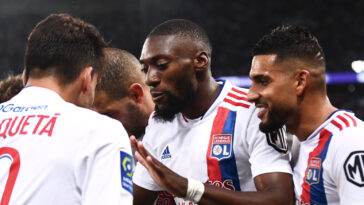 Karl Toko Ekambi et l'OL ont dévoré Brondby en Ligue Europa ce jeudi 30 septembre. Icon Sport