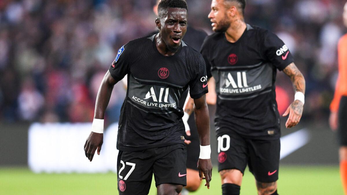 Idrissa Gueye buteur heureux face à Montpellier (iconsport)