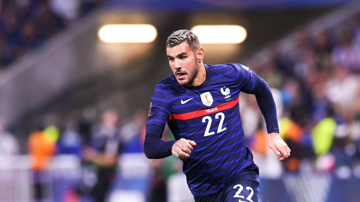 Théo Hernandez n'a qu'une sélection en équipe de France mais il ne manque pas d'ambition... Icon Sport