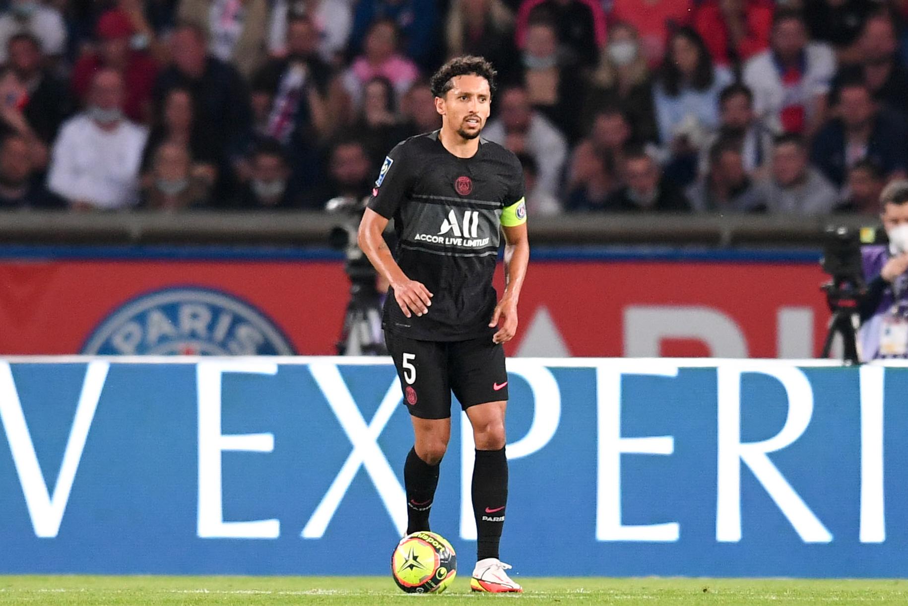 Alors qu'il l'a croisé en Serie A à ses débuts à Rome, Chiellini explique que Marquinhos a beaucoup progressé (iconsport)