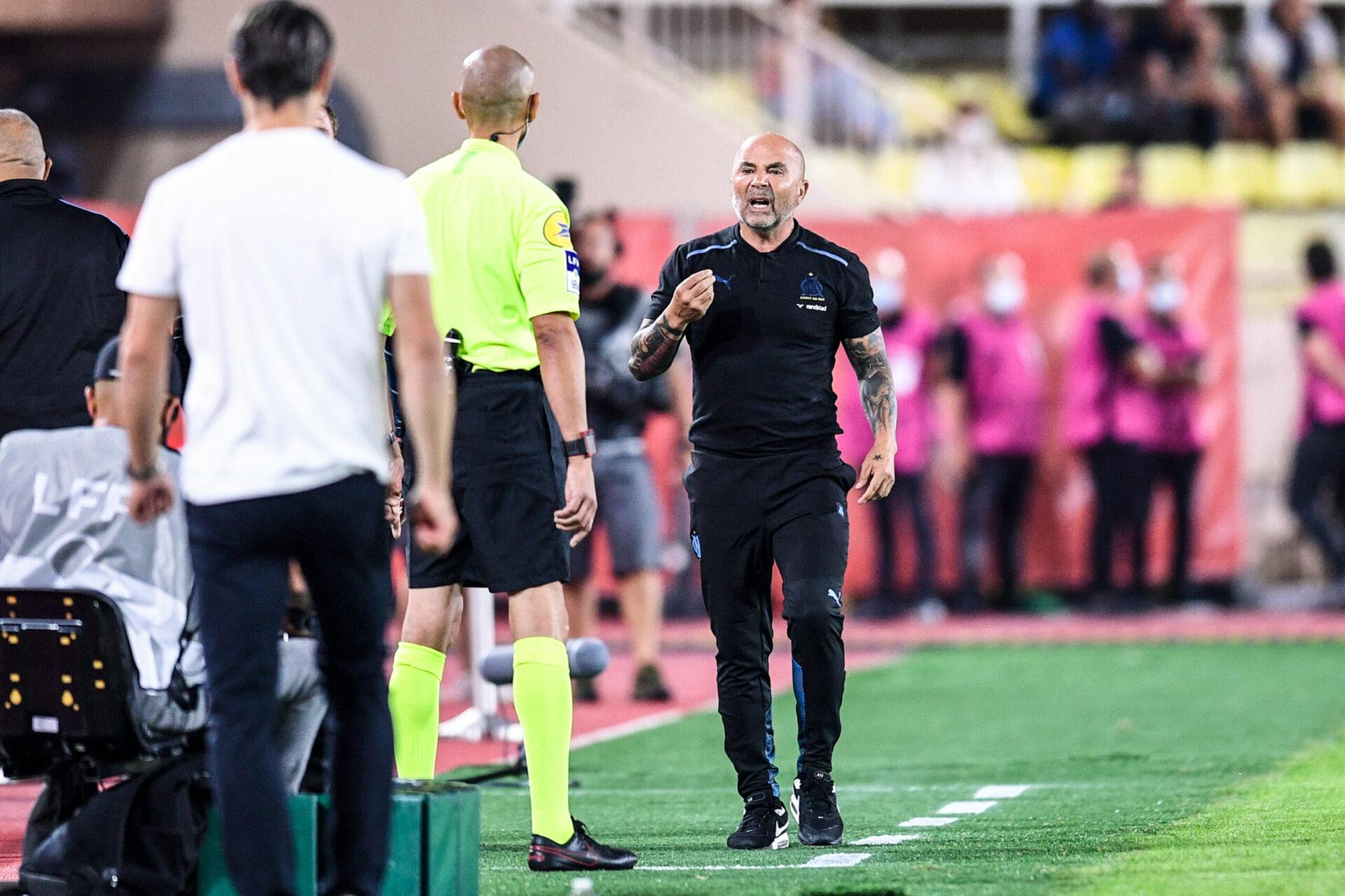 Sampaoli, entraîneur de l'Olympique de Marseille (IconSport)