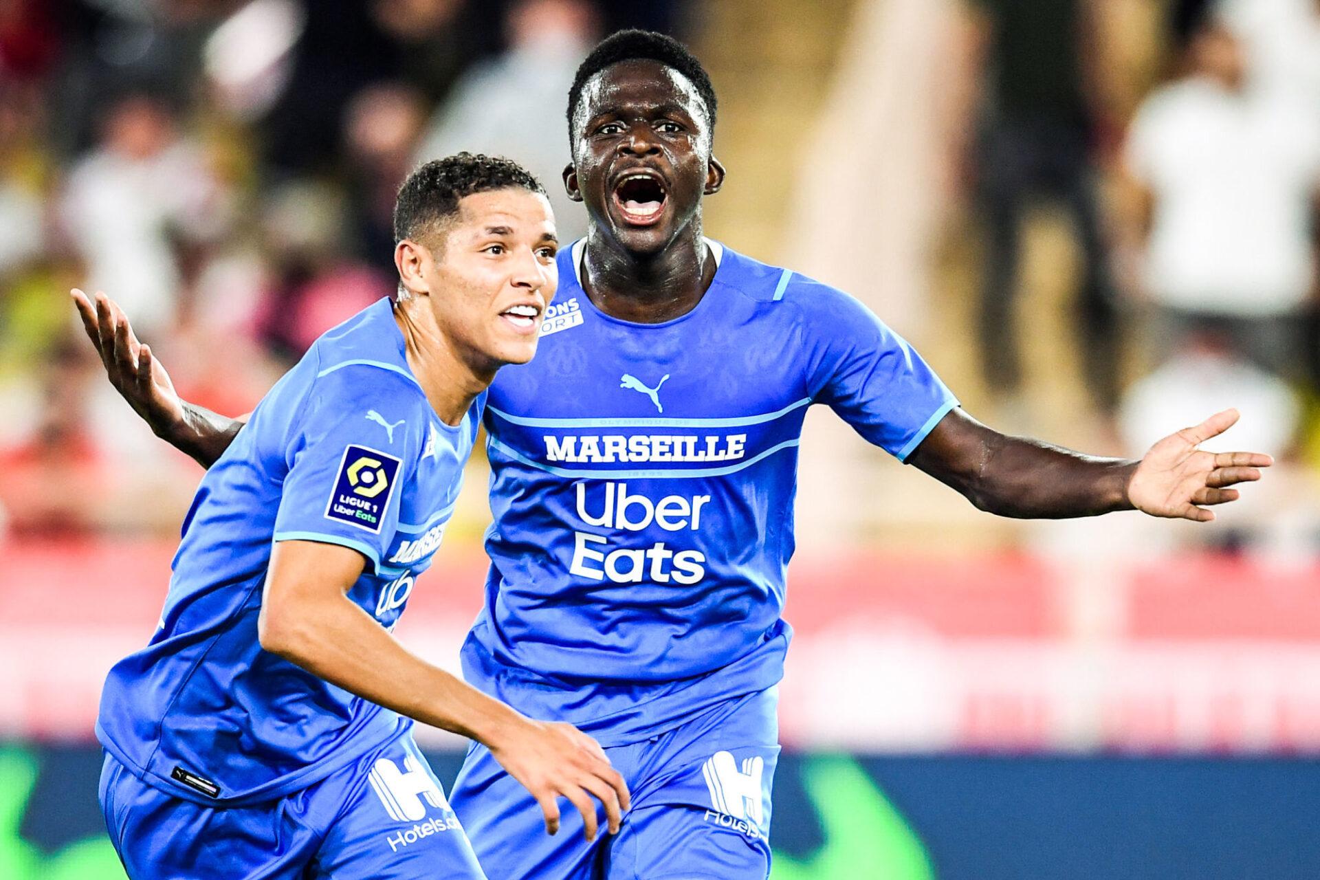 L'OM d'Amine Harit et Bamba Dieng a disposé de Monaco. Icon Sport