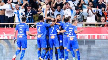 Victoire de l'Olympique de Marseille à Louis-II (IconSport)