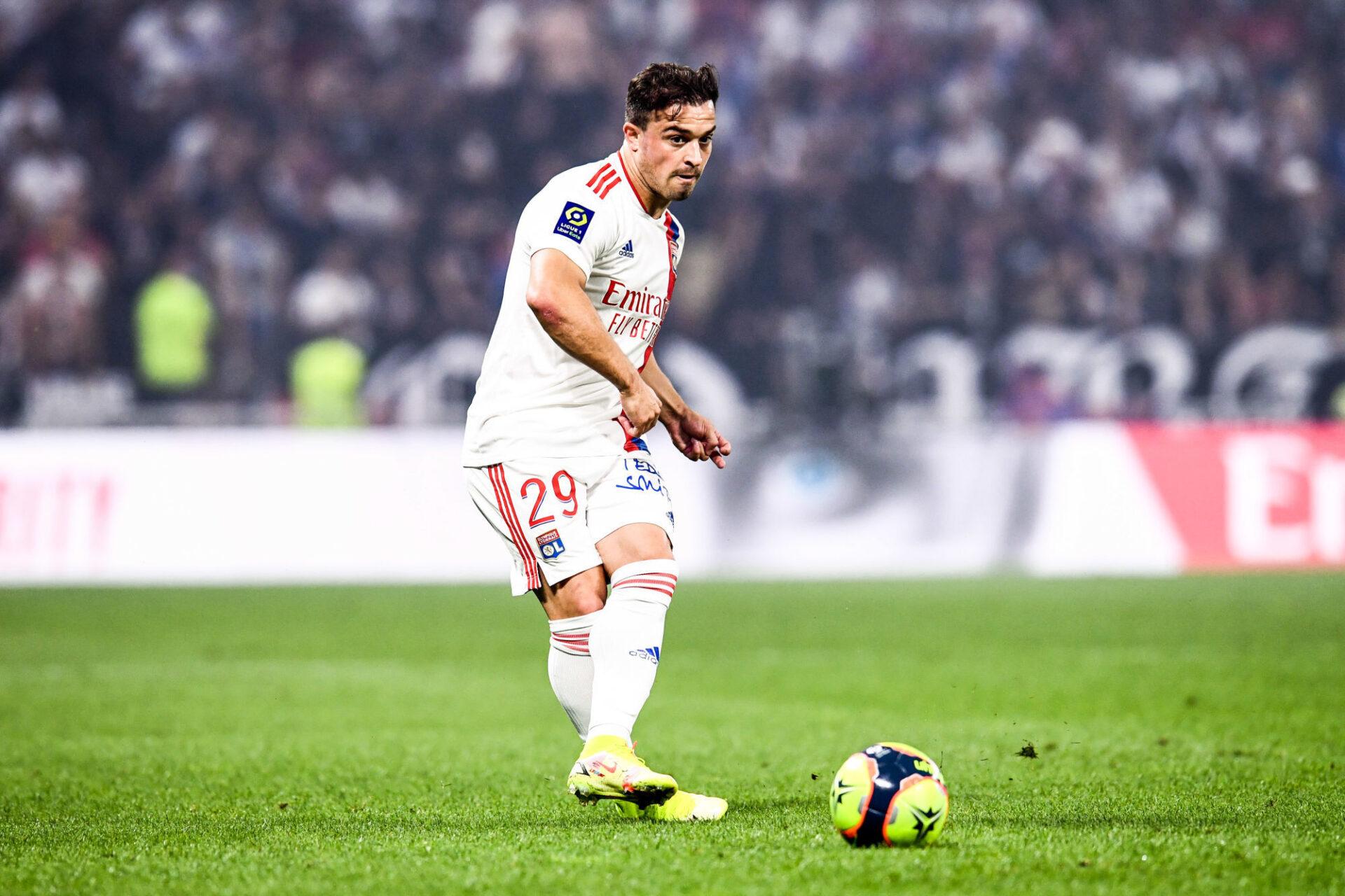 Xherdan Shaqiri a fait valoir la délicatesse de son pied gauche dès le coup d'envoi avec l'OL. Icon Sport