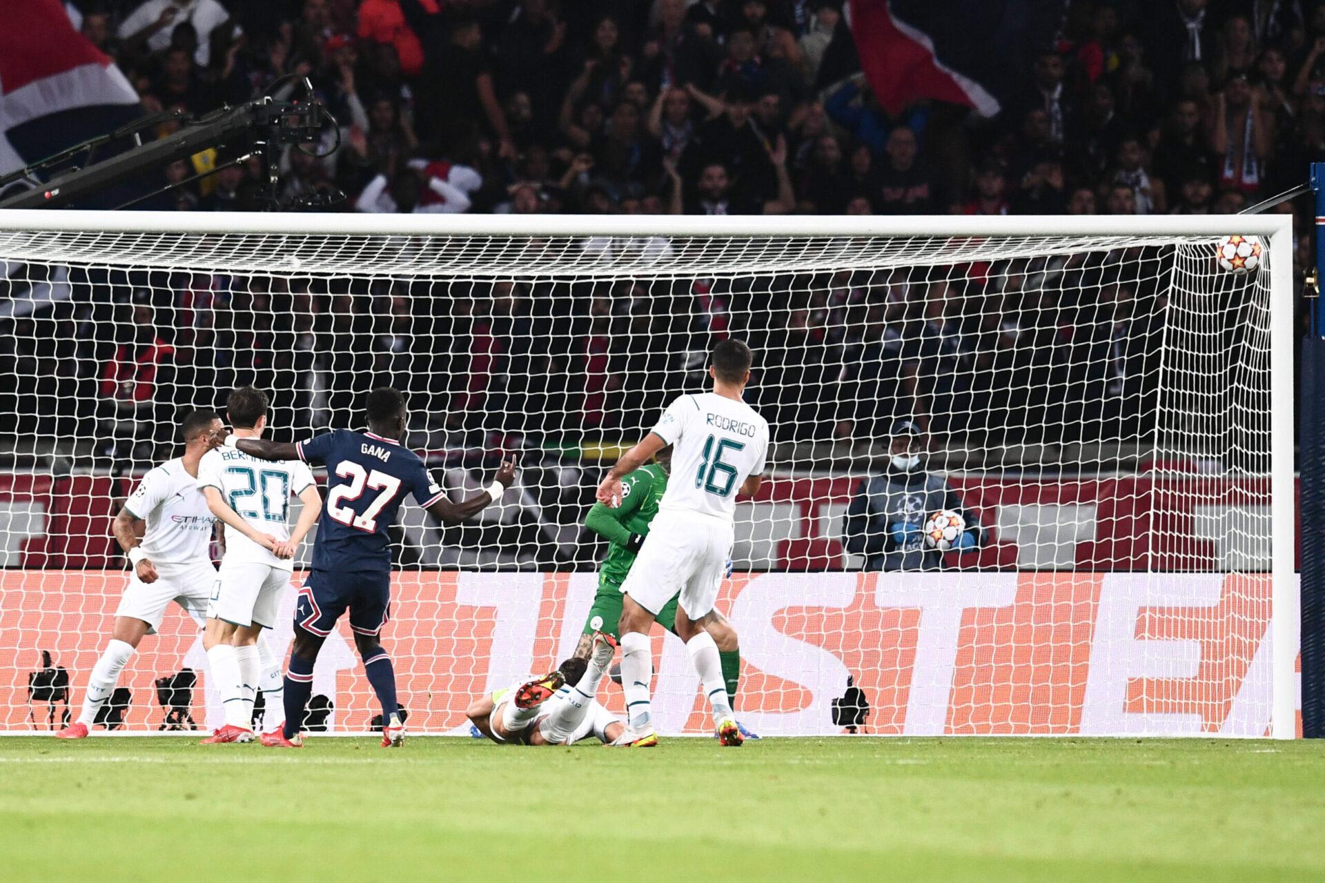 Le but d'Idrissa Gueye face à Manchester City (iconsport)