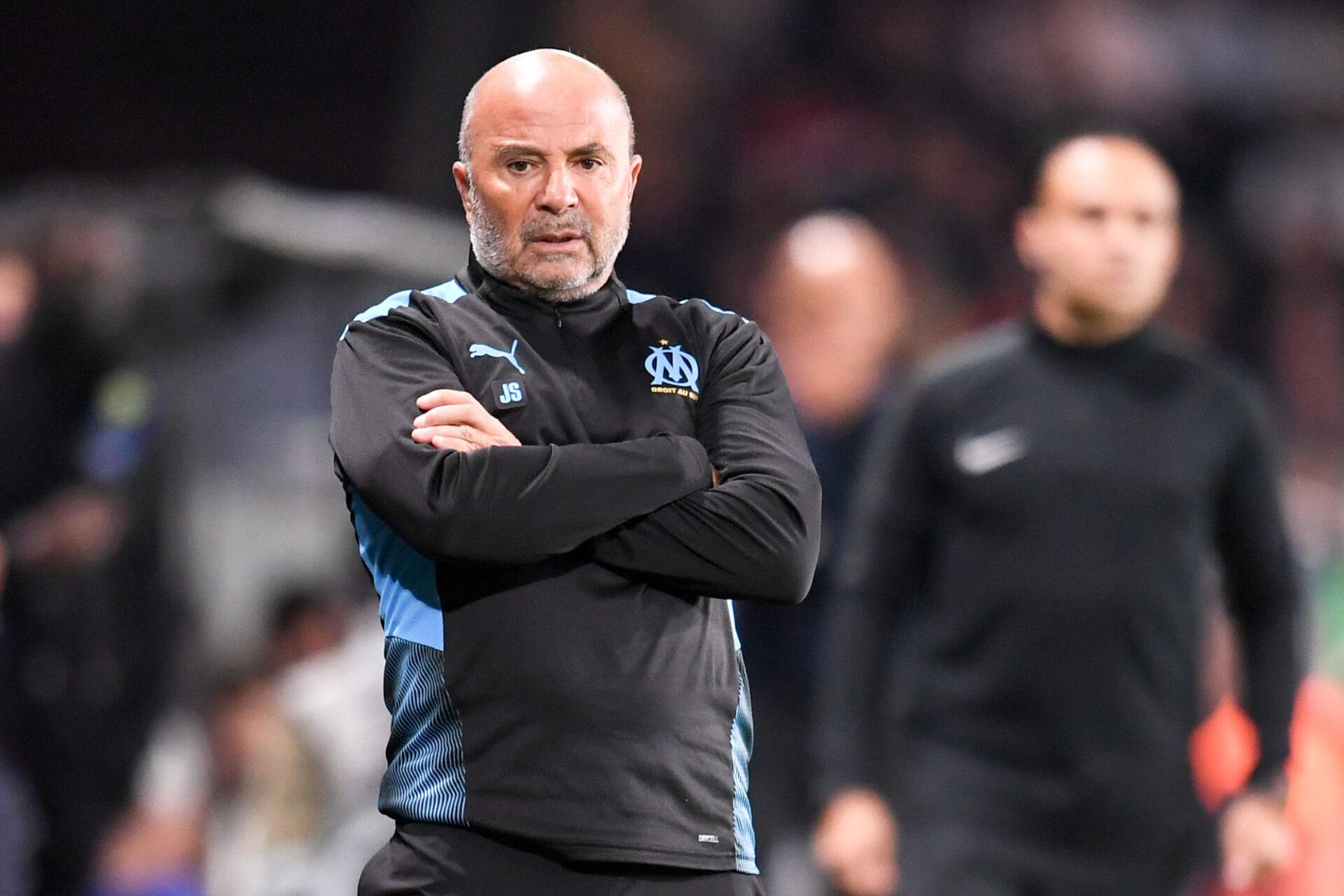 Jorge Sampaoli est préoccupé par les débordements des supporters dans les stades de Ligue 1. Icon Sport