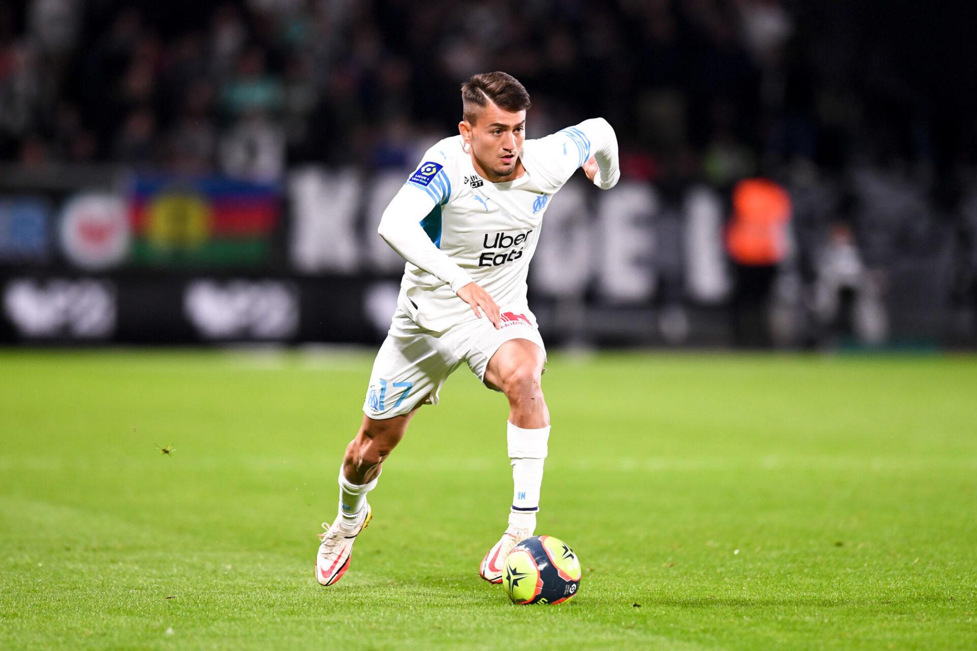Cengiz Ünder a déjà marqué 4 buts en 8 matchs pour l'OM cette saison. Icon Sport