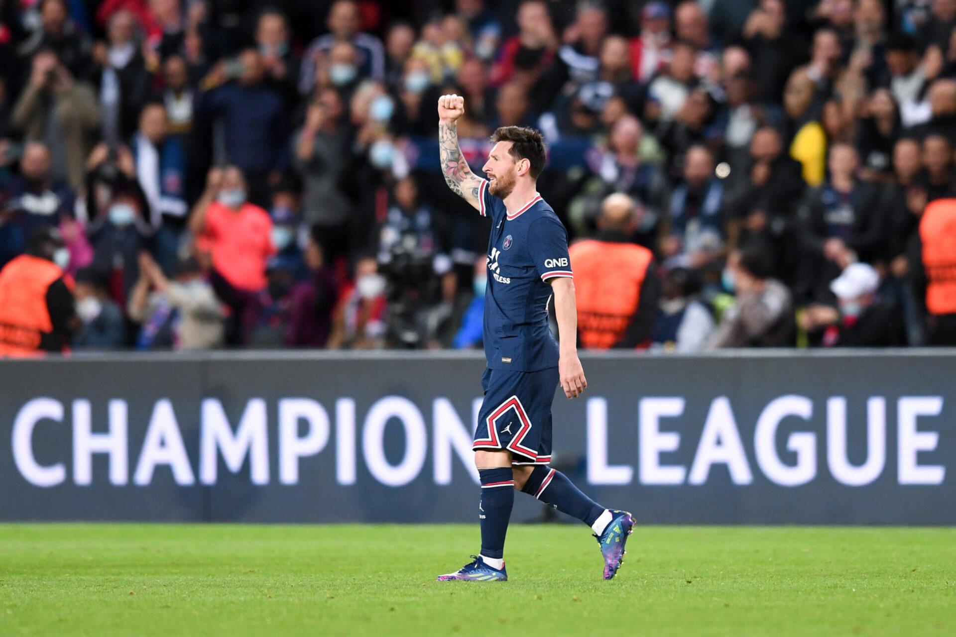 Lionel Messi a inscrit son premier but avec le PSG (iconsport)