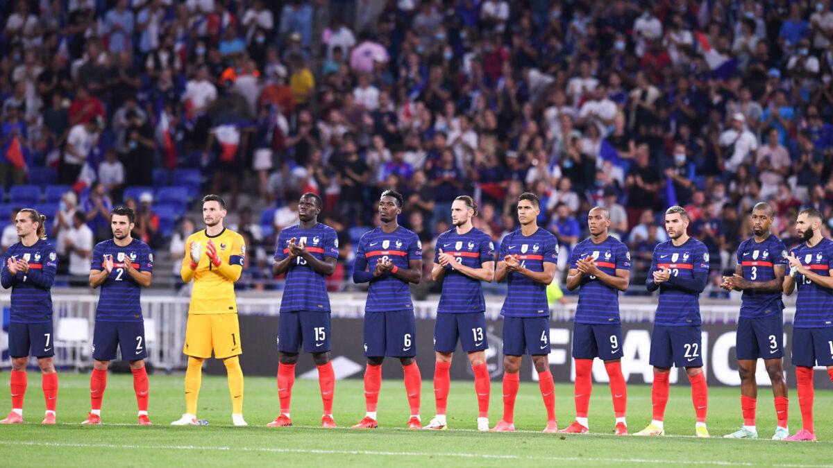 Après un mois de septembre décevant, la France perd une nouvelle place au classement FIFA et chute du podium (iconsport)