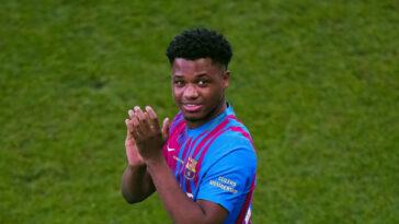 Ansu Fati est de retour au Barça ! Icon Sport