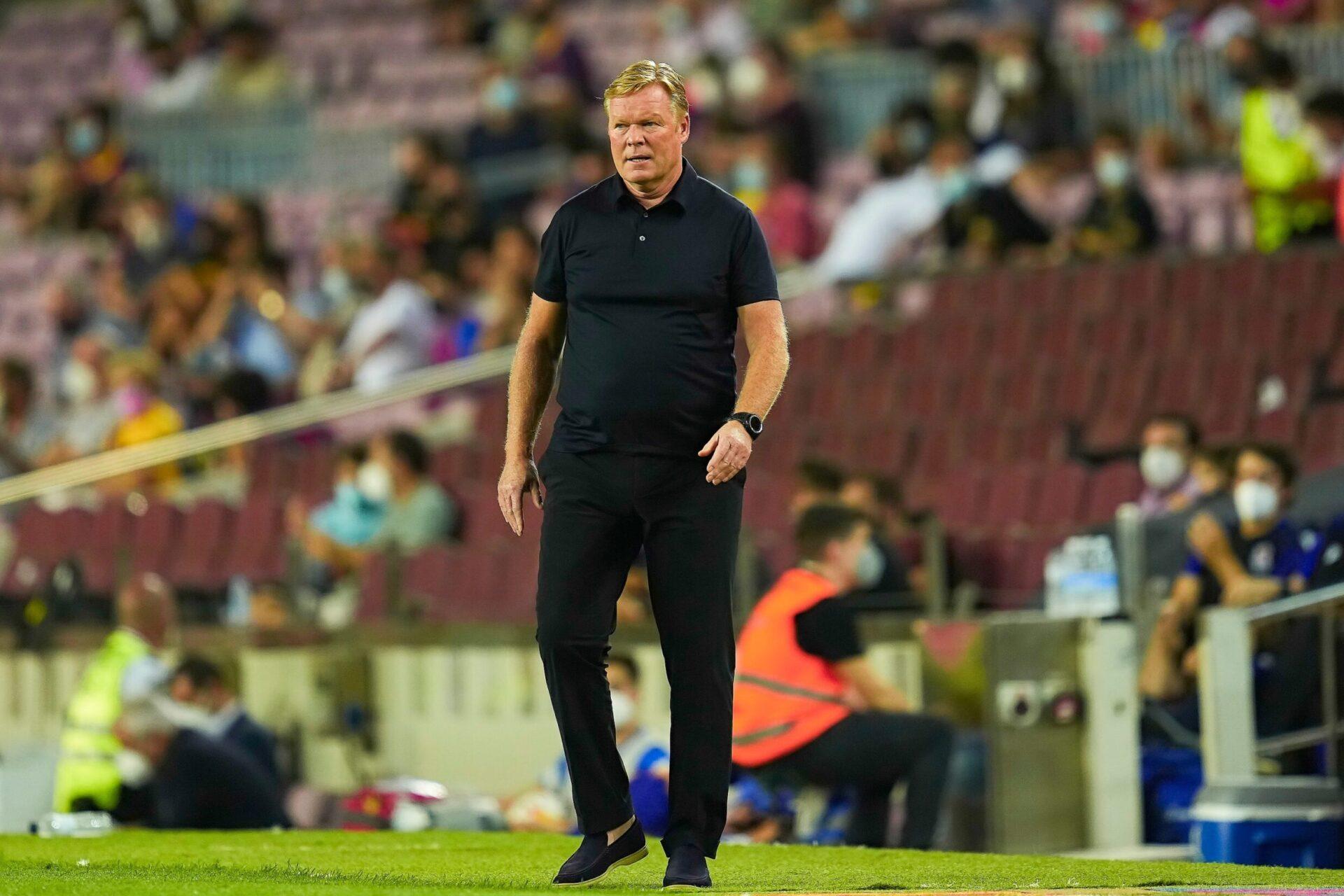 On ne reverra peut-être plus le Néerlandais sur le banc du Barça (iconsport)