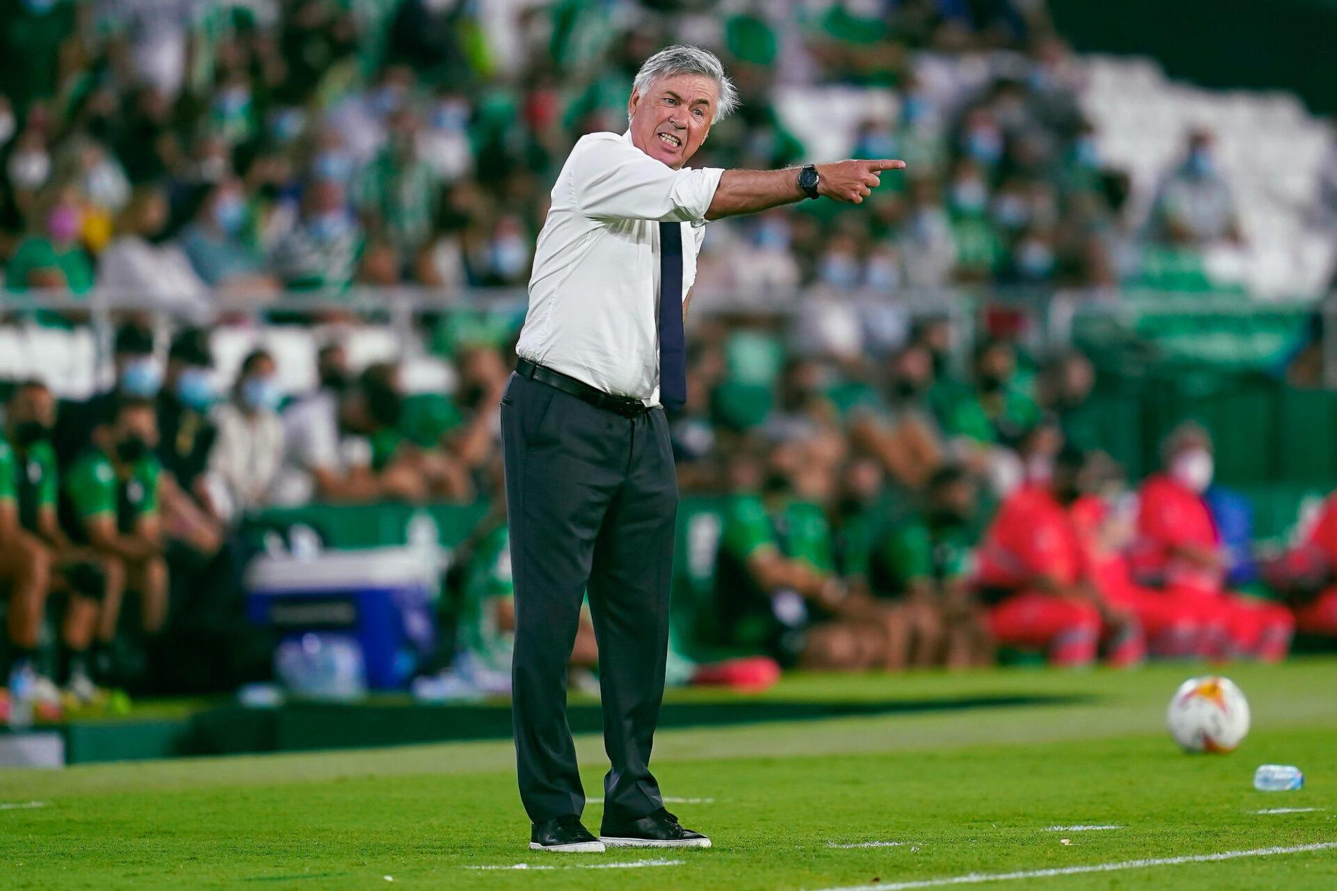 Carlo Ancelotti veut que son équipe s'améliore défensivement pour croire au titre en Ligue des champions. Icon Sport