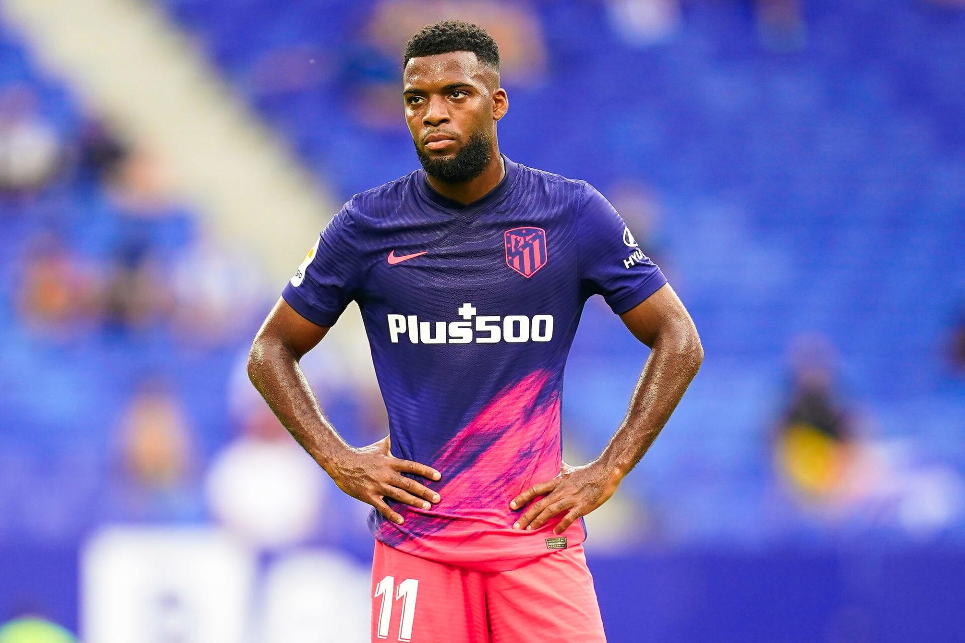 Symbole des difficultés de l'Atlético contre Porto, Thomas Lemar a été remplacé dès la 36e minute par un Diego Simeone furieux. Icon Sport