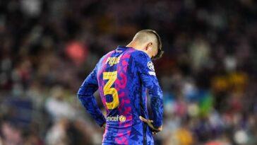 Piqué a réagi à la lourde défaite du Barça contre le Bayern. Icon SPort