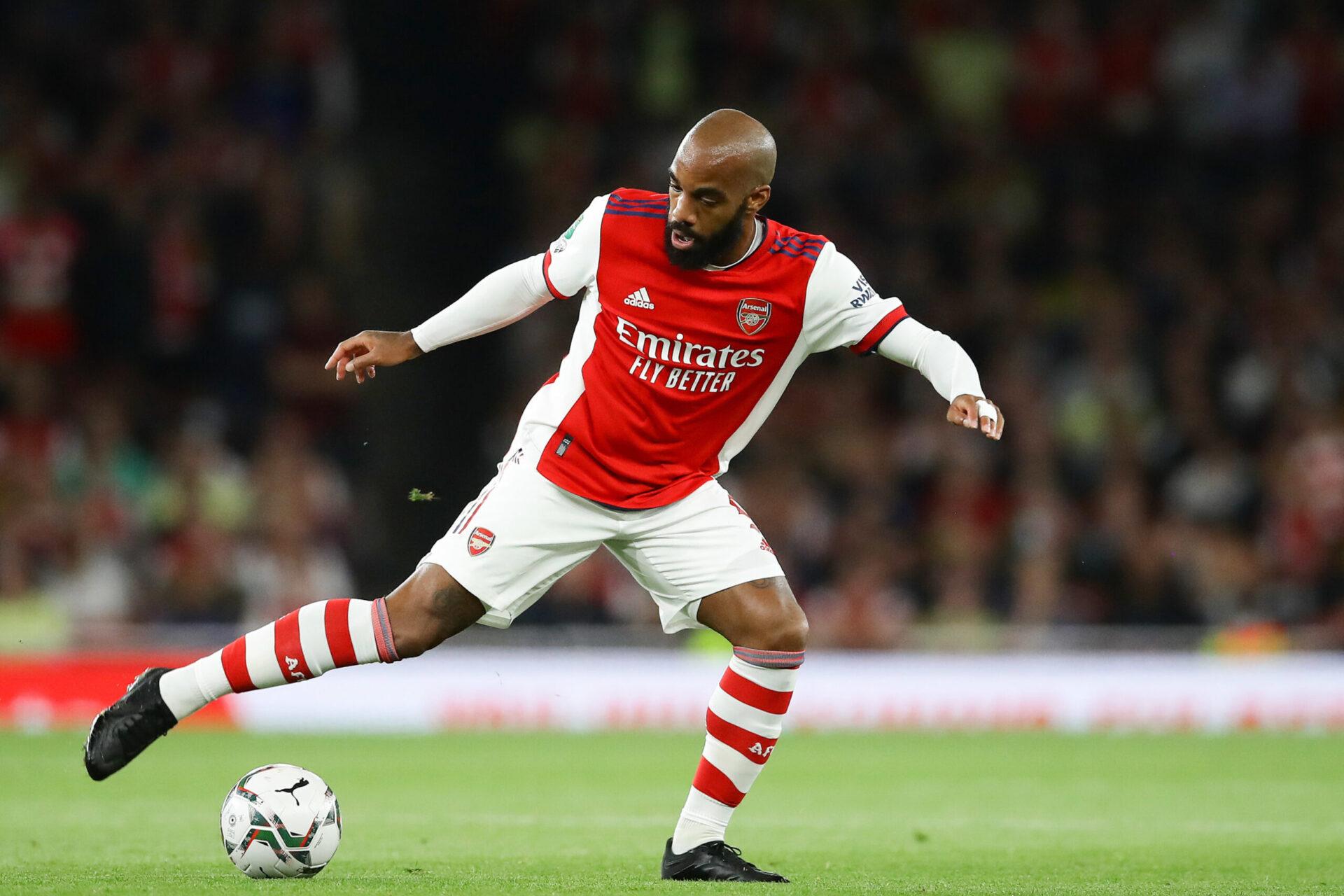 Alexandre Lacazette sera en fin de contrat avec Arsenal en juin 2022 (IconSport)