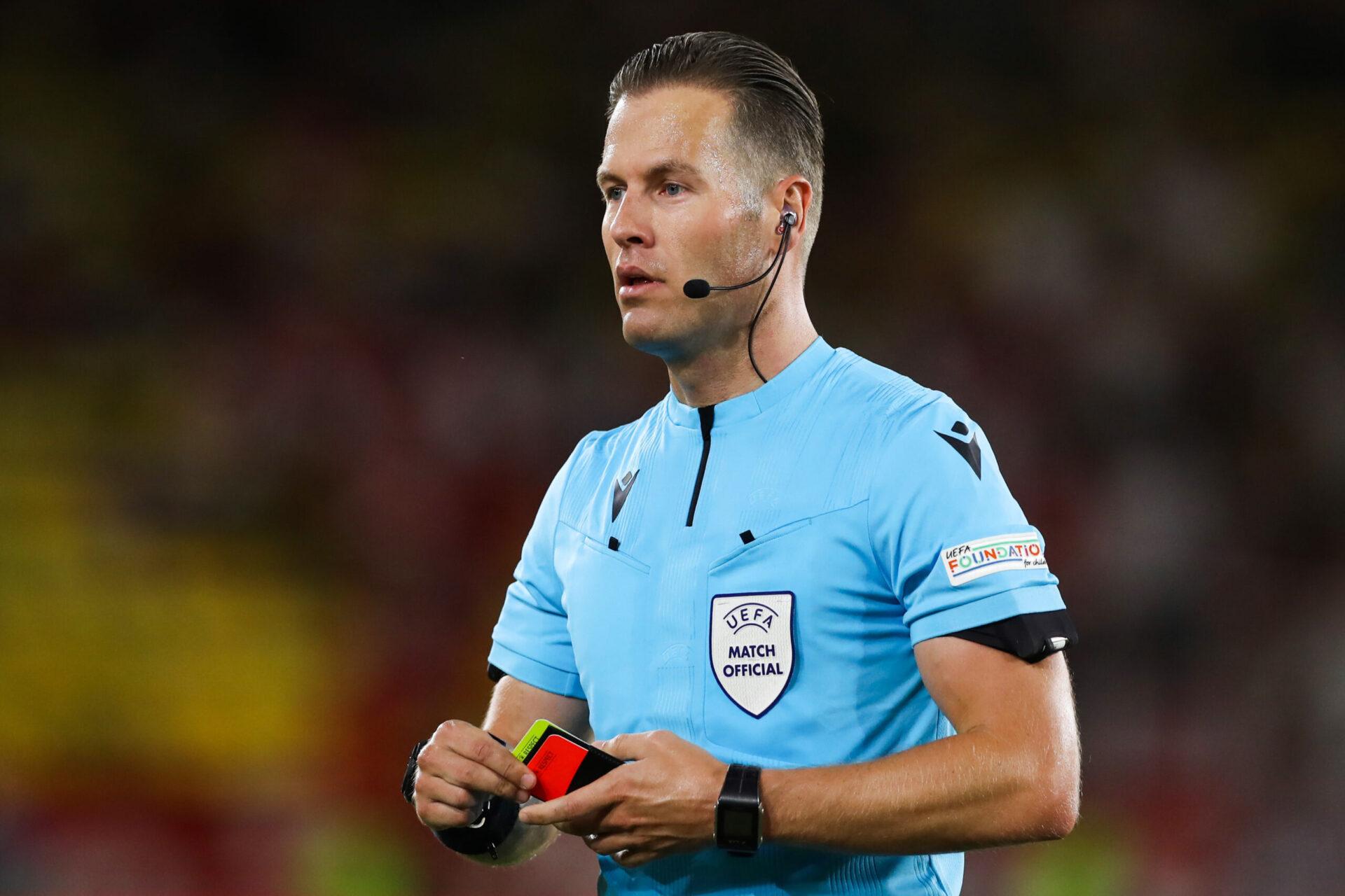 Le Néerlandais Danny Makkelie arbitrera la rencontre entre Lille et Wolfsburg (iconsport)