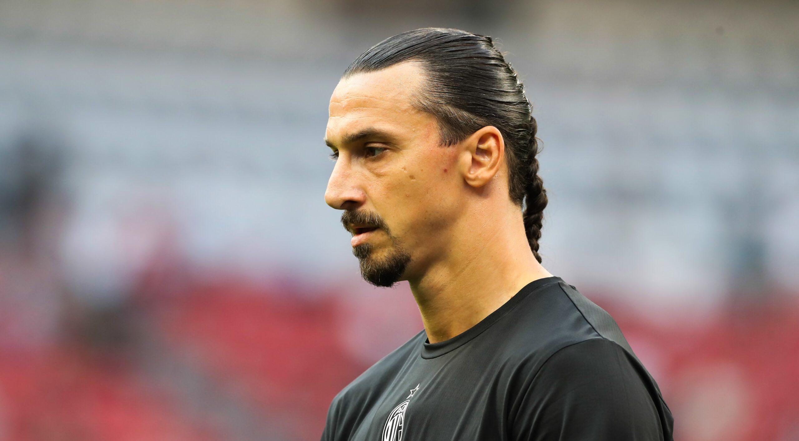 Zlatan ne veut pas prendre de risque avec sa blessure et sera donc absent contre la Juve (iconsport)