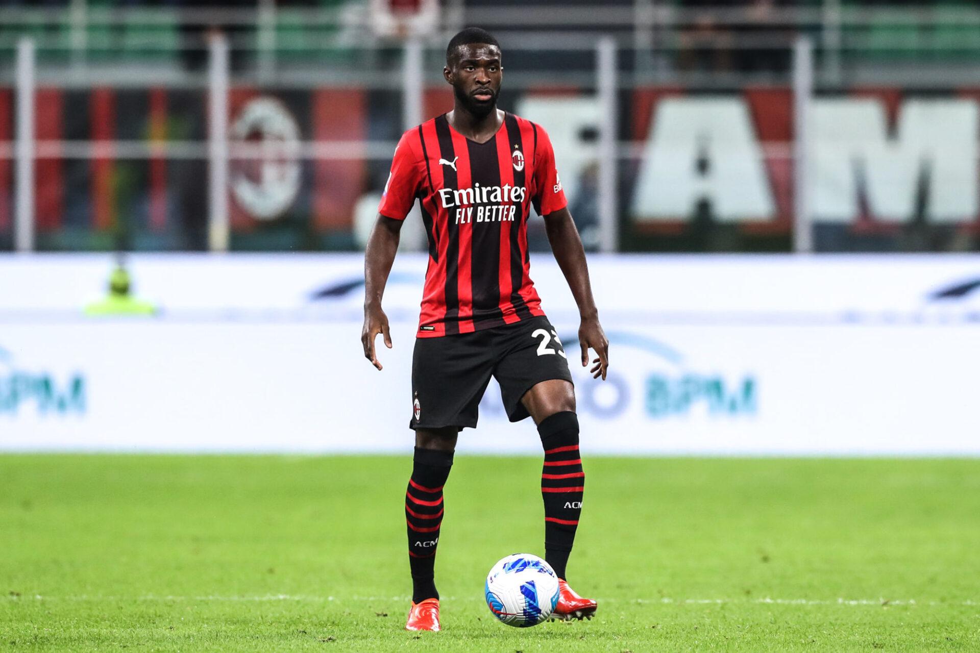 Fikayo Tomori, le défenseur central de l'AC Milan, fait son retour en sélection après deux ans d'absence. Icon Sport