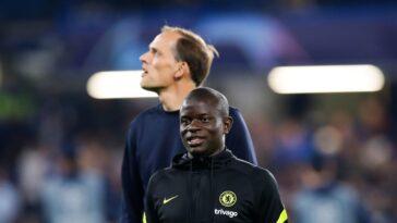 Tuchel a rendu un superbe hommage à Kanté après le match face aux Spurs (iconsport)