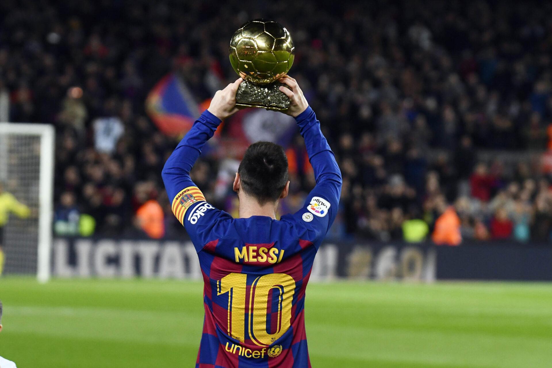 De Barcelone à Paris, Lionel Messi est en route pour son septième Ballon d'Or. Icon Sport