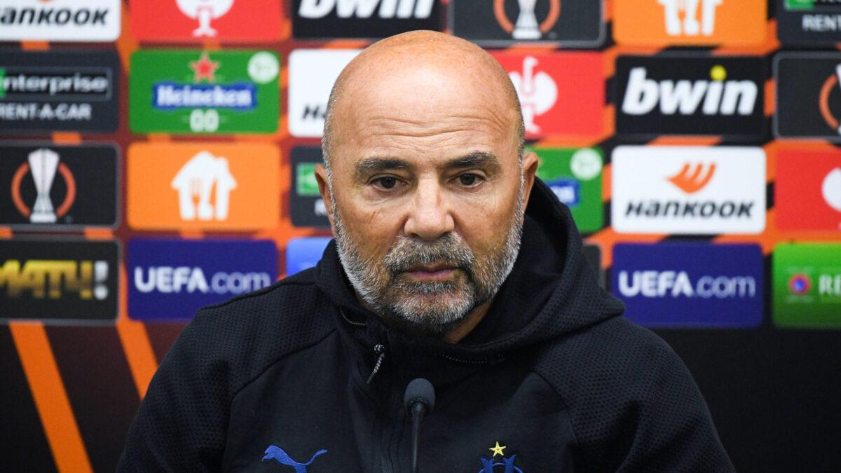 En conférence de presse, Jorge Sampaoli s'est exprimé sur l'importance de la Ligue Europa pour son groupe (iconsport)