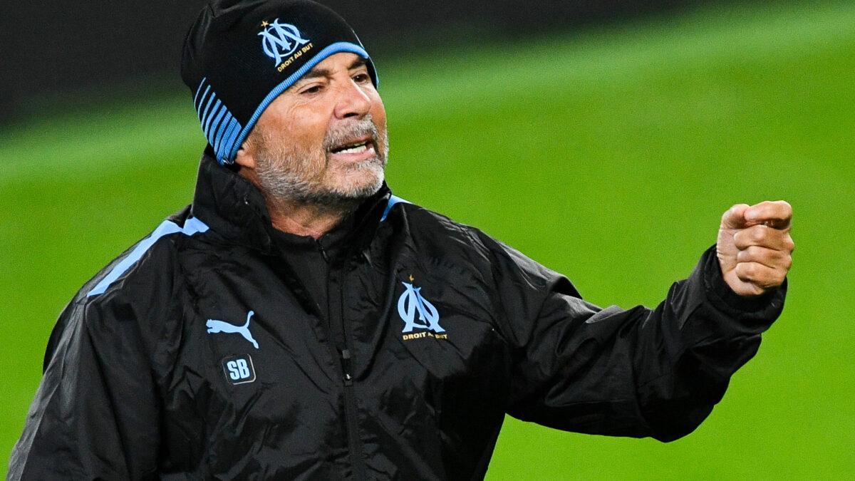 Jorge Sampaoli satisfait après la victoire face à Rennes (iconsport)