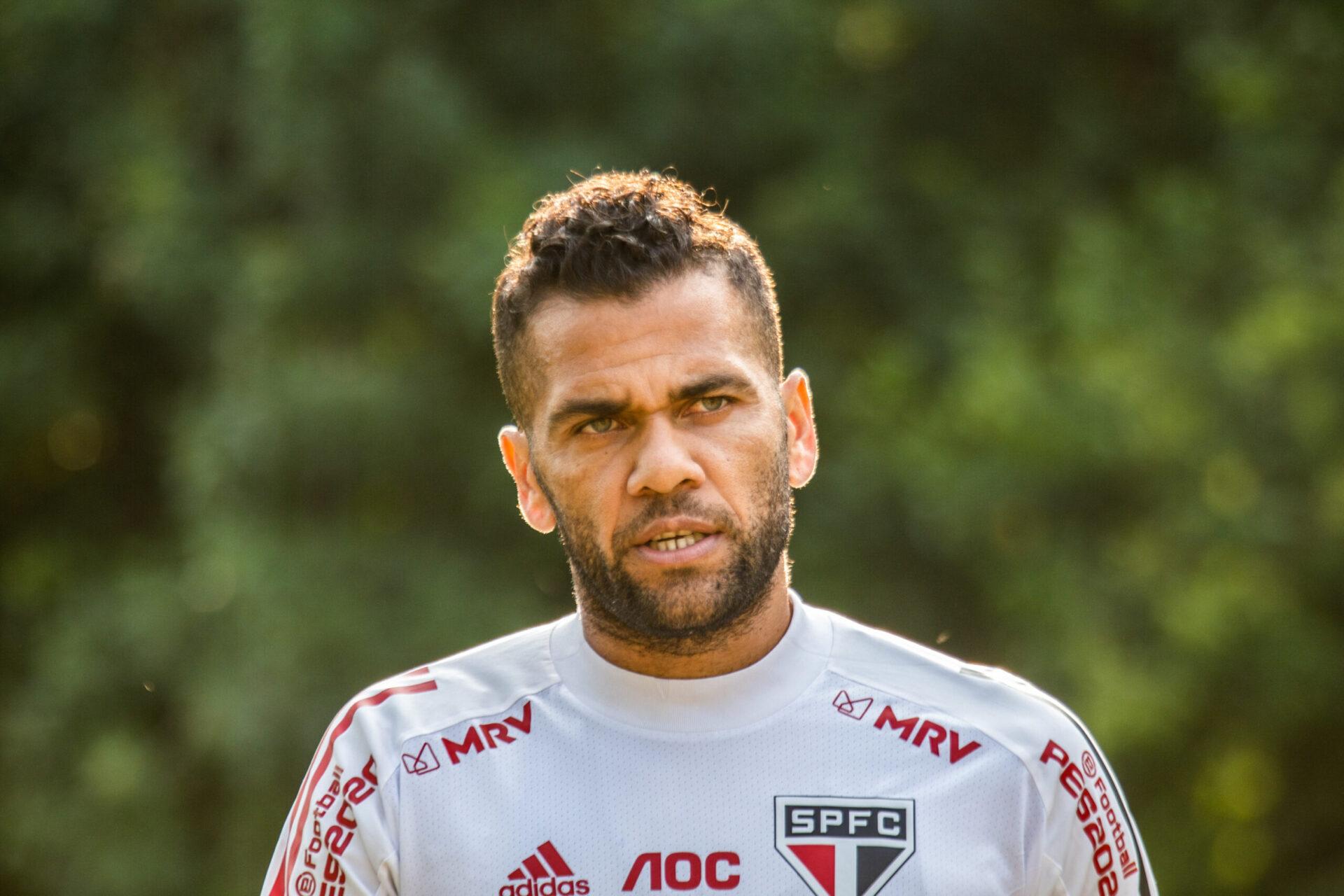 Dani Alves n'est plus un joueur de Sao Paulo (IconSport)