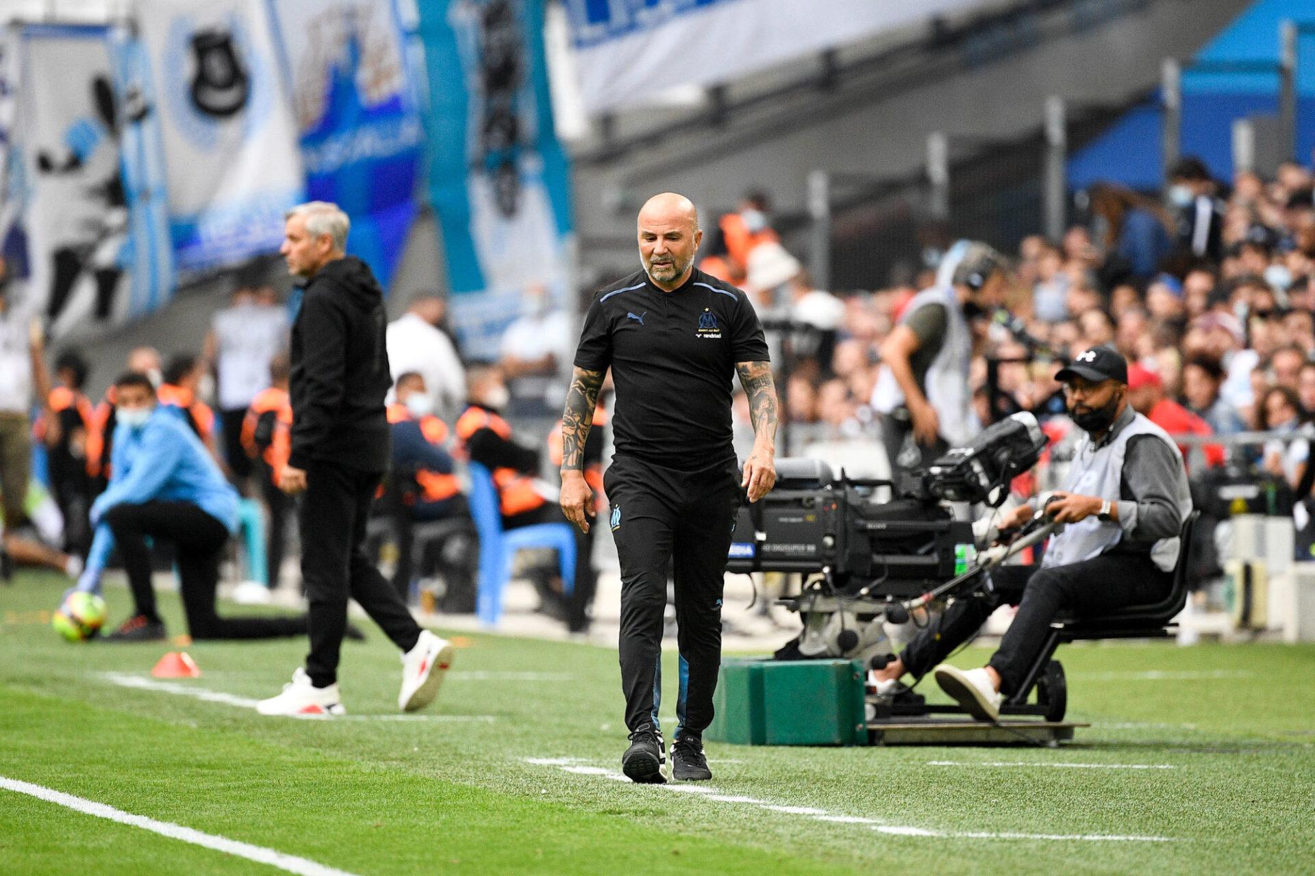 Jorge Sampaoli a ramené de la joie à Marseille. Icon Sport