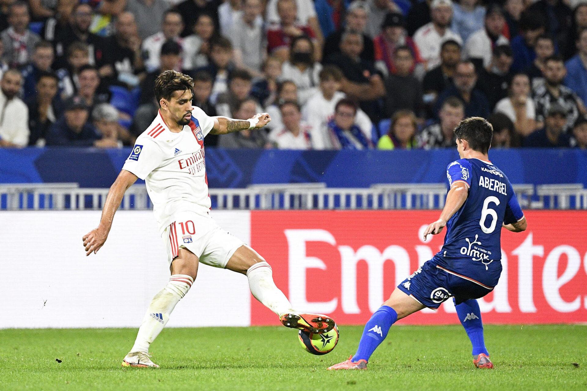 Lucas Paquetá pourrait évoluer attaquant lors de la rencontre contre Brøndby, jeudi 30 septembre. Icon Sport