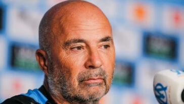 Jorge Sampaoli était en conférence de presse avant le choc contre l'AS Monaco. Icon Sport