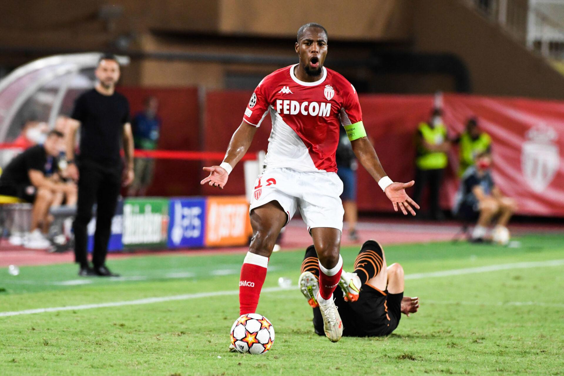 Djibril Sidibé s'est bien relancé à Monaco, où il s'est imposé comme l'un des meilleurs latéraux droits du championnat. Icon Sport