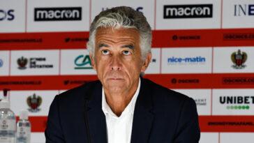 Jean-Pierre Rivère, président de Nice, a décidé de ne pas faire appel des décisions rendues par la commission de discipline. Icon Sport