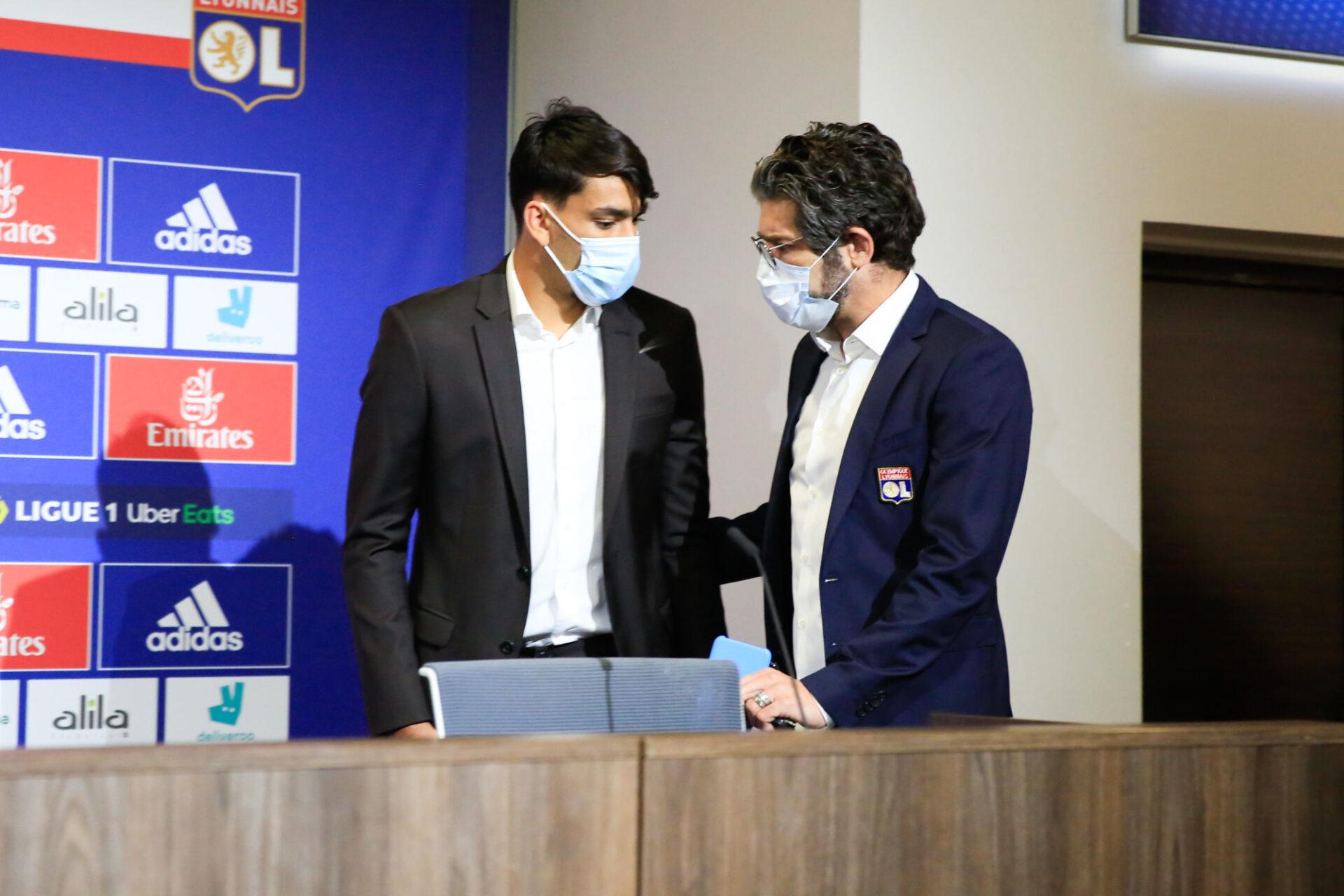 Lucas Paqueta est venu à Lyon en grande partie grâce à Juninho. Icon Sport