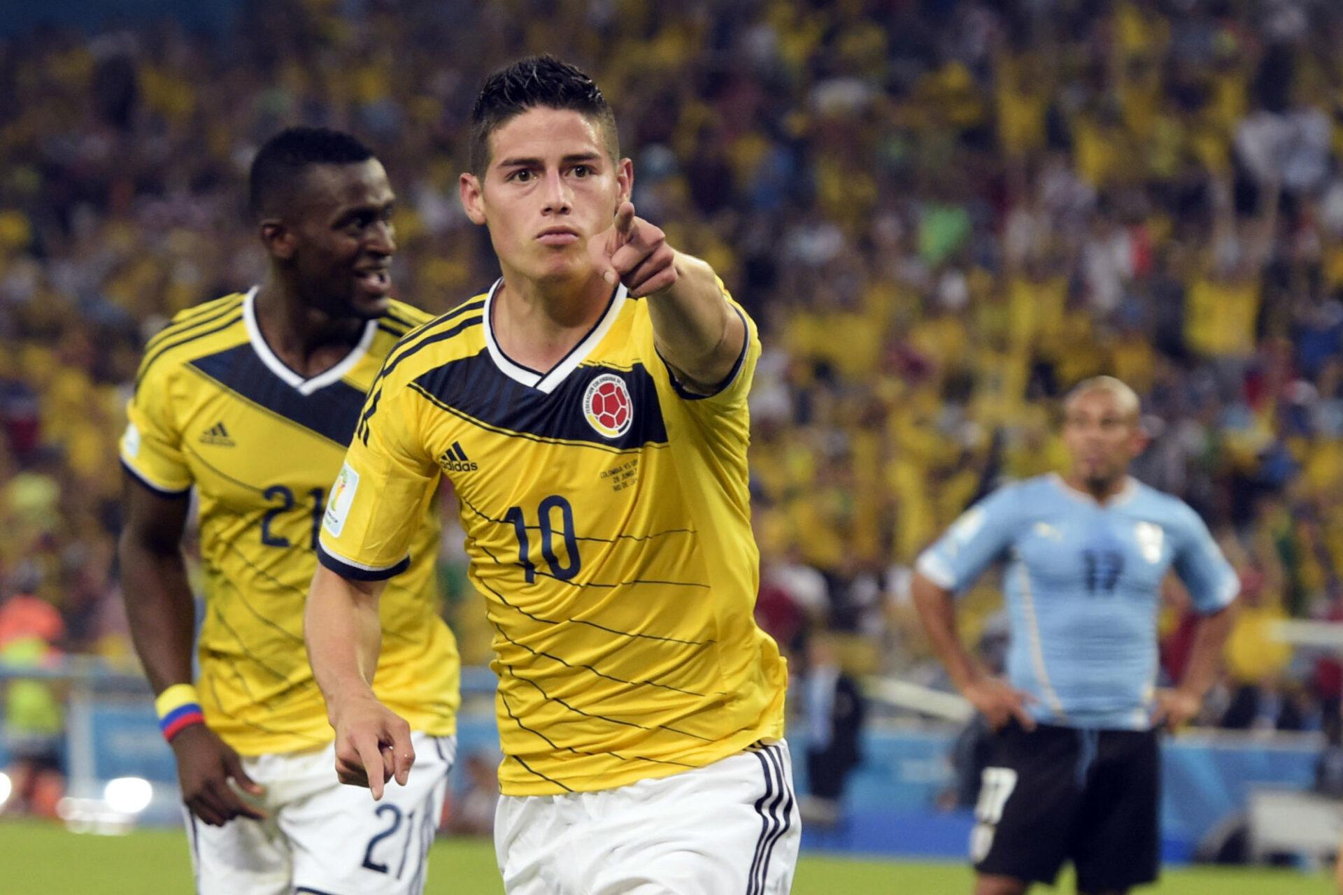 James Rodriguez avait illuminé la Coupe du monde 2014, terminant meilleur buteur avec la Colombie. Icon Sport