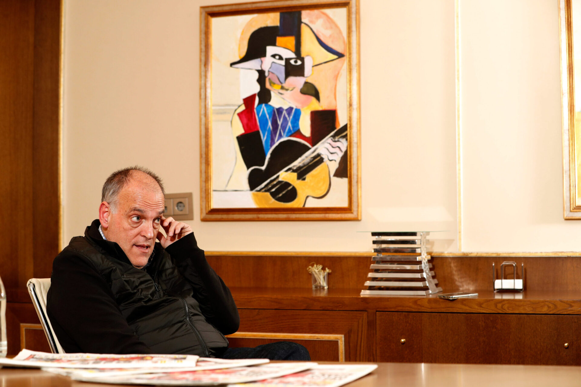 Javier Tebas, le président de la Liga (iconsport)