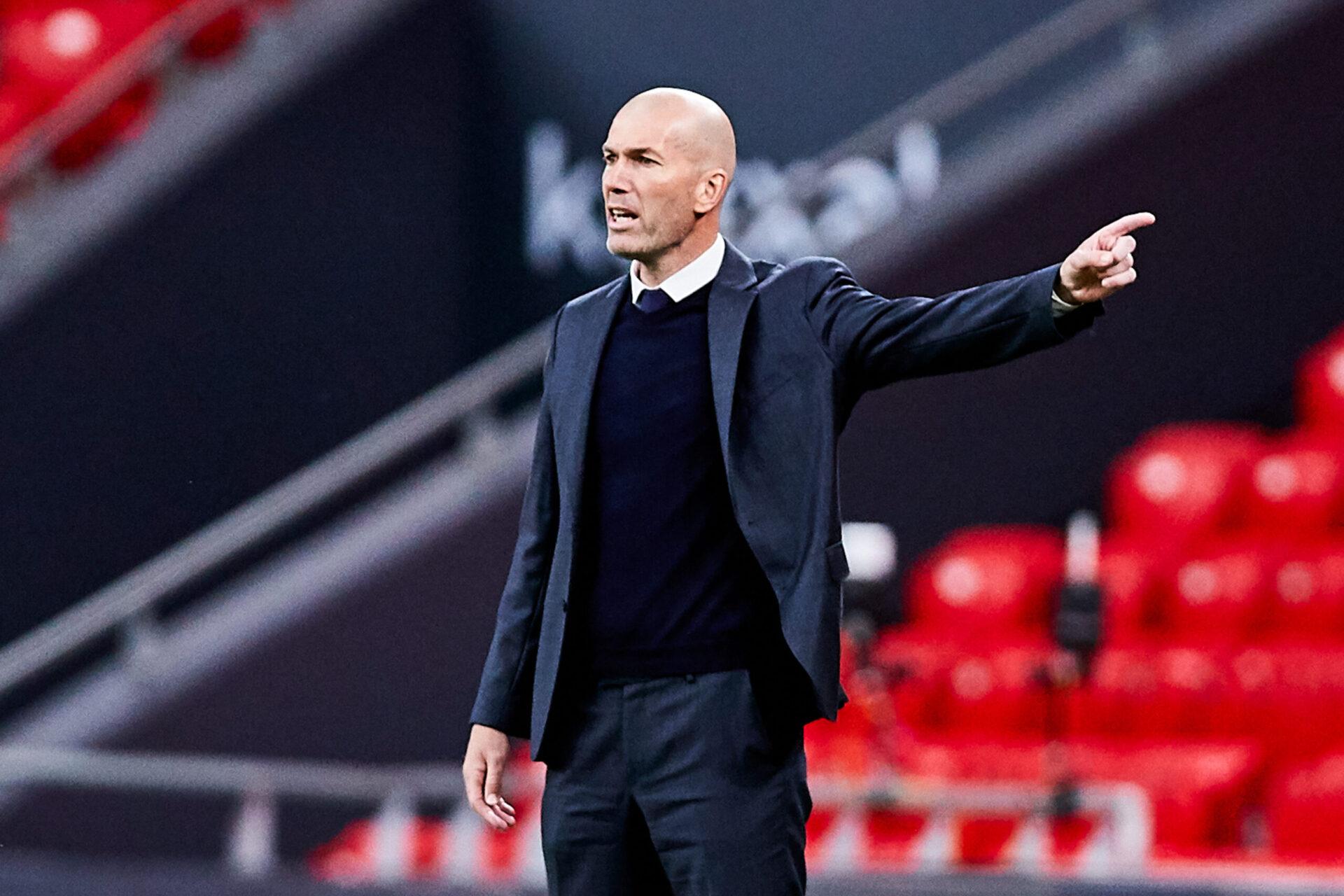 Zinédine Zidane est au centre d'une nouvelle rumeur l'envoyant au Paris Saint-Germain (IconSport)
