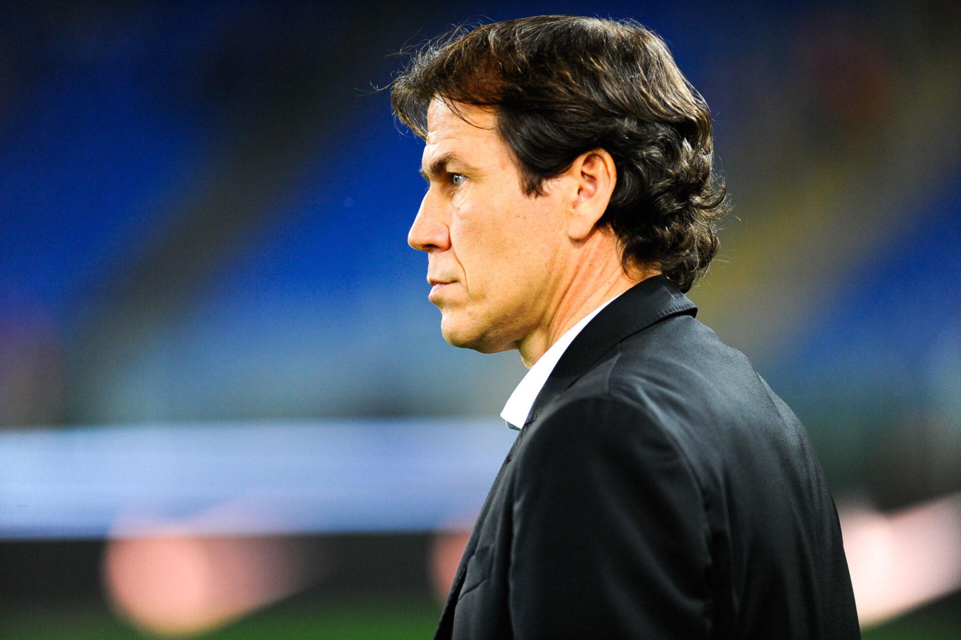 Rudi Garcia sur le banc de l'AS Roma en 2016. Icon Sport