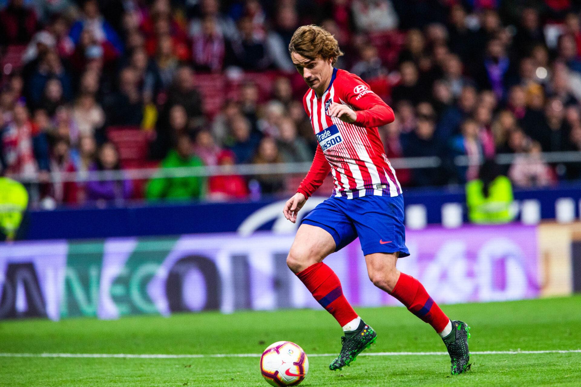 Antoine Griezmann va tenter de redevenir le joueur qu'il était à l'Atlético entre 2014 et 2019. Icon Sport