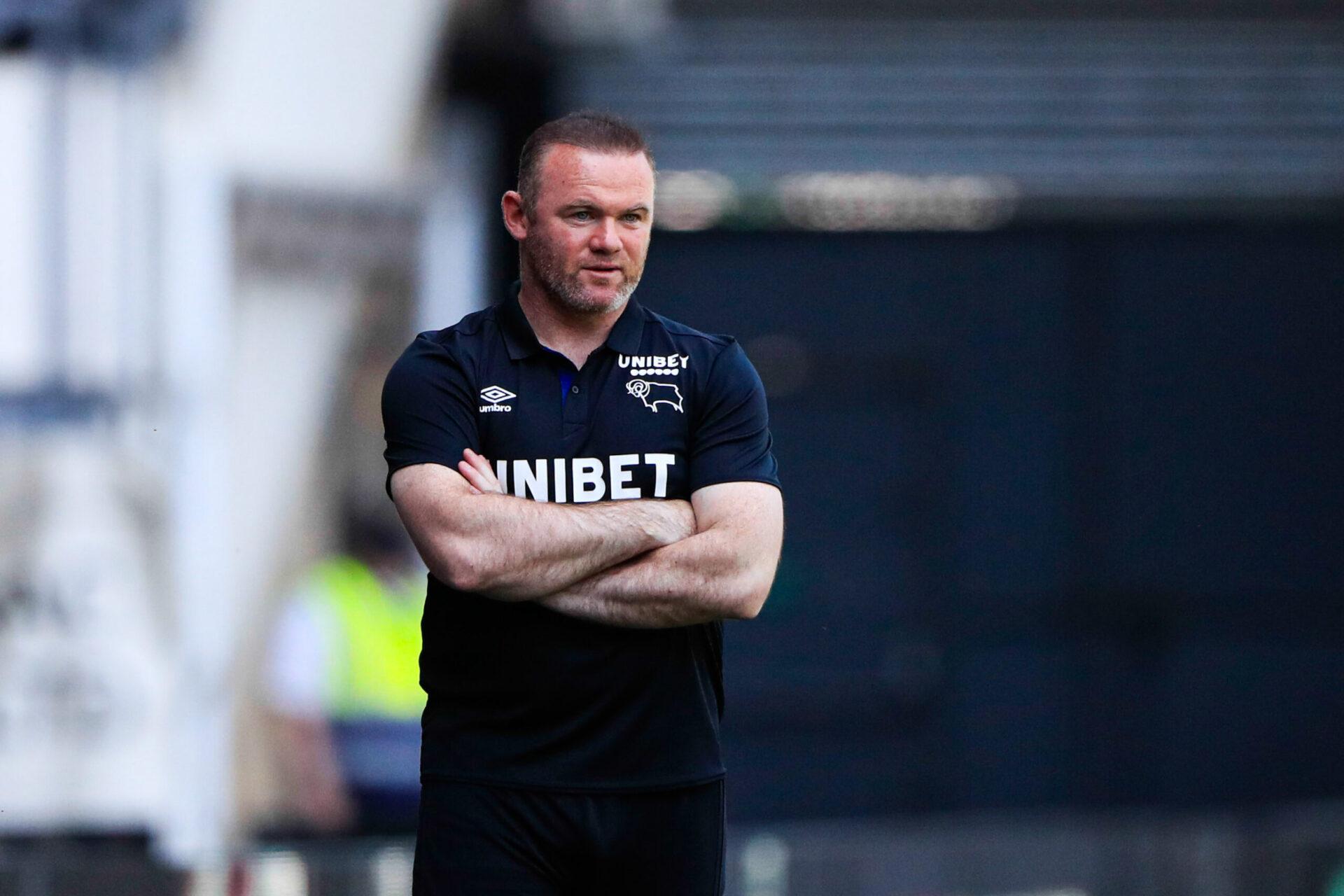 Wayne Rooney va rester coach de Derby (iconsport)