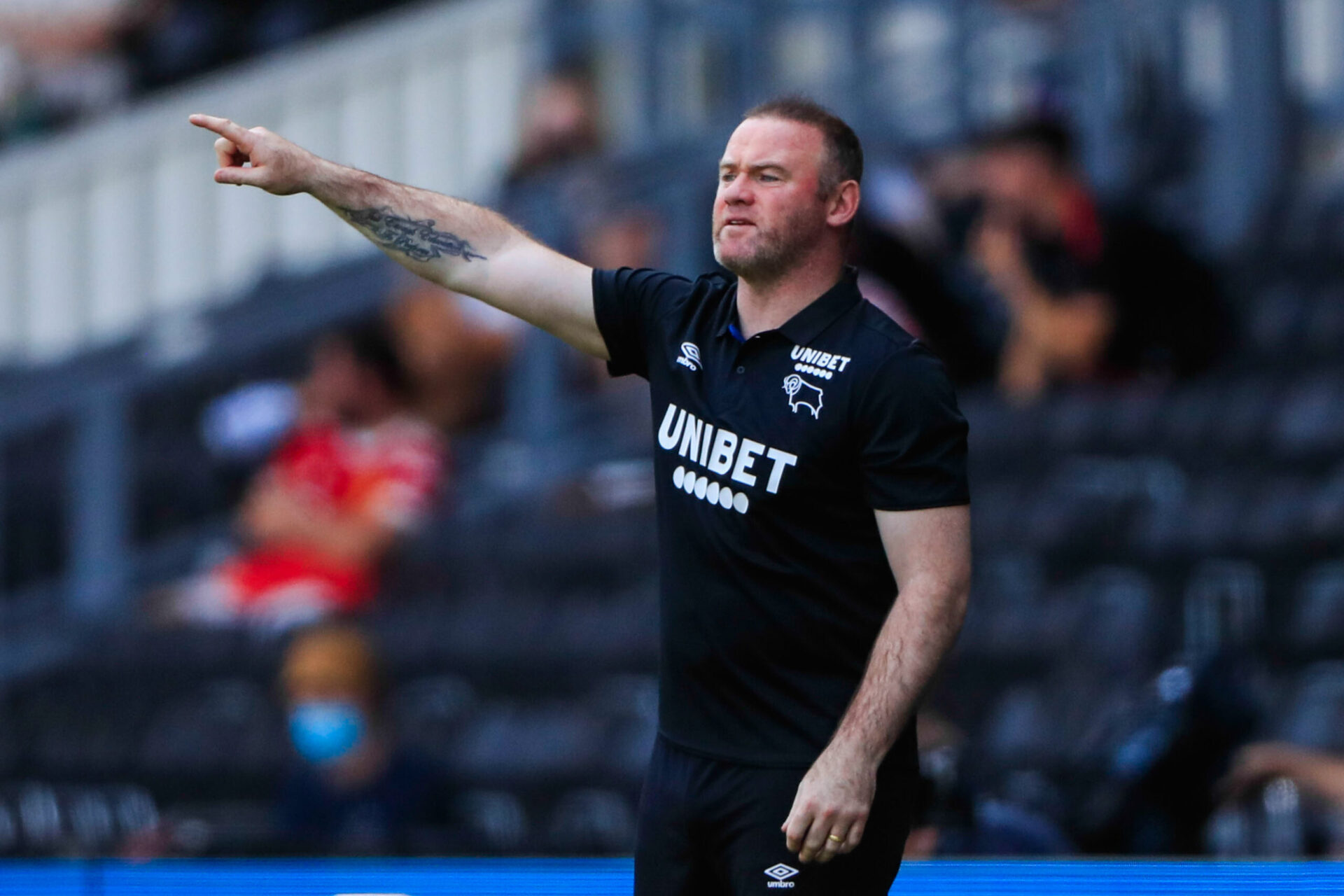 Les Rams de Wayne Rooney sont au bord de la faillite (IconSport)
