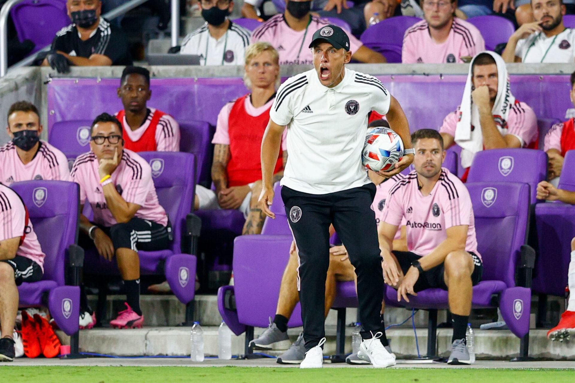 Phil Neville est l'entraîneur de l'Inter Miami depuis janvier 2021. Icon Sport