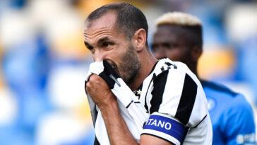 Giorgio Chiellini sous le maillot de la Juventus (IconSport)