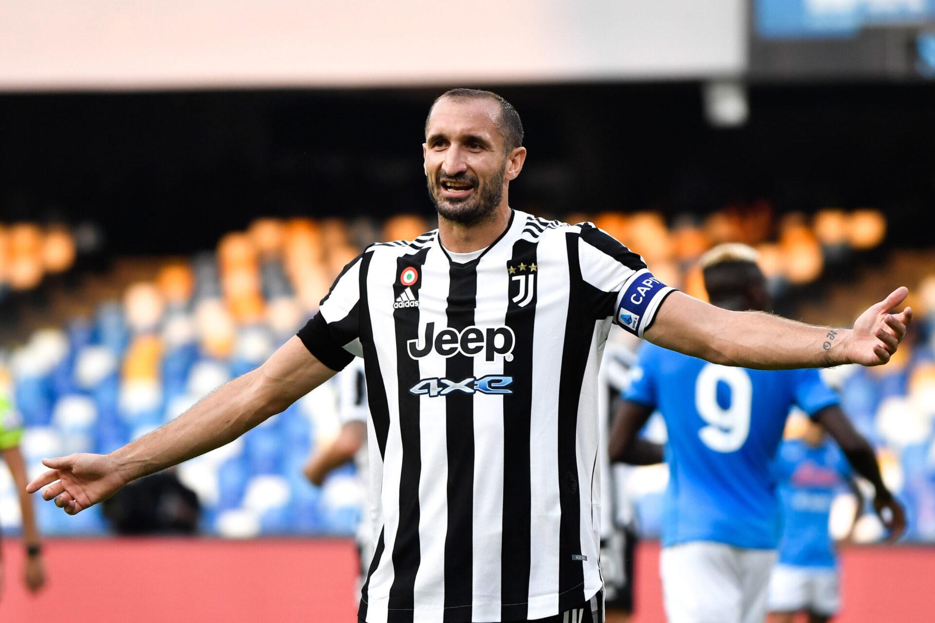 Capitaine de la Juventus, Chiellini voit en Paris l'un des favoris au sacre final en Ligue des champions cette saison (iconsport)