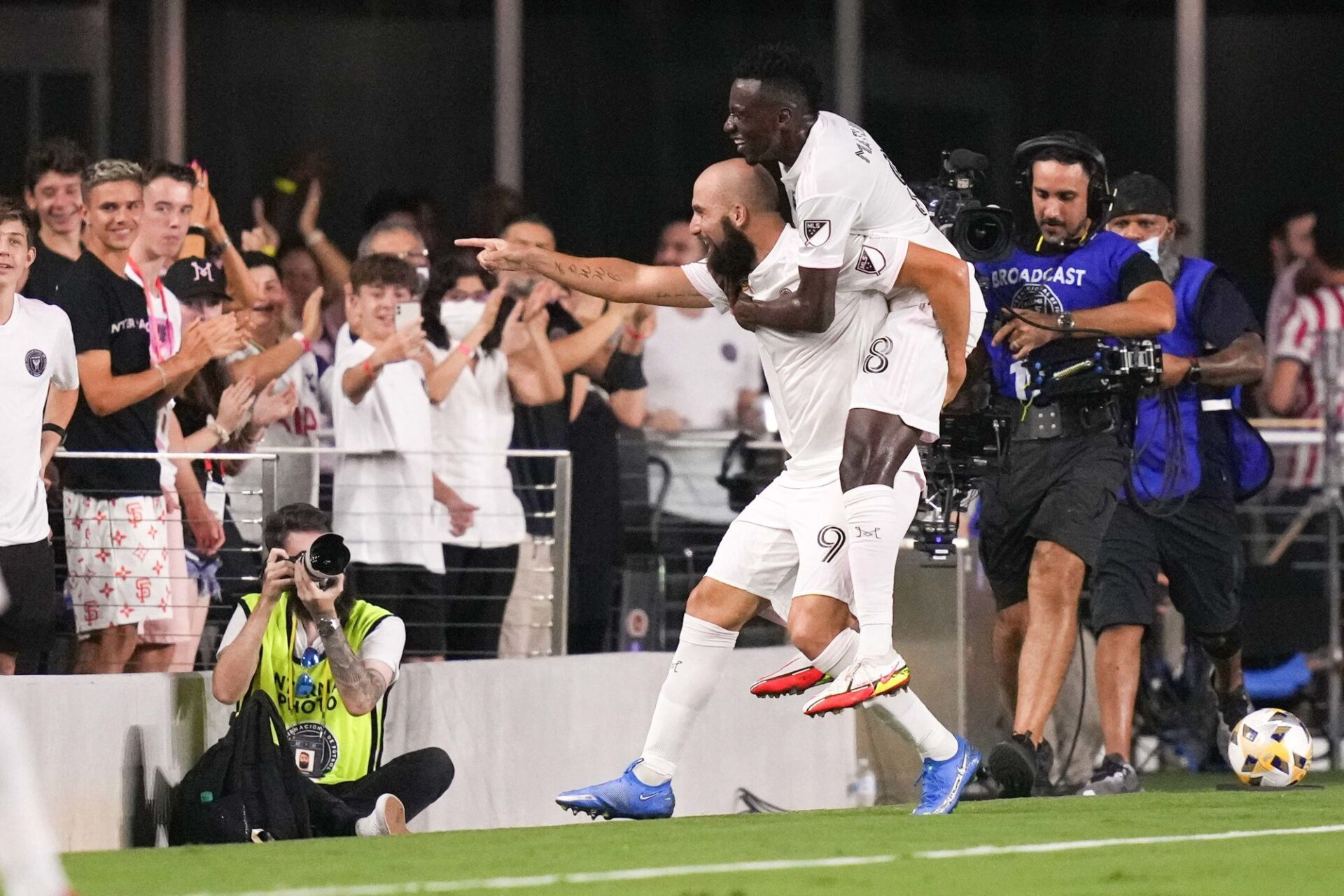 Gonzalo Higuain et Blaise Matuidi évoluent ensemble à l'Inter Miami. Icon Sport