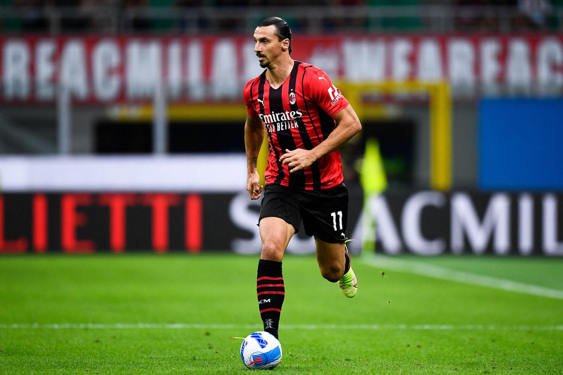 Alors qu'il avait réussi son retour le week-end dernier, Zlatan est privé du déplacement des Milanais à Anfield (iconsport)