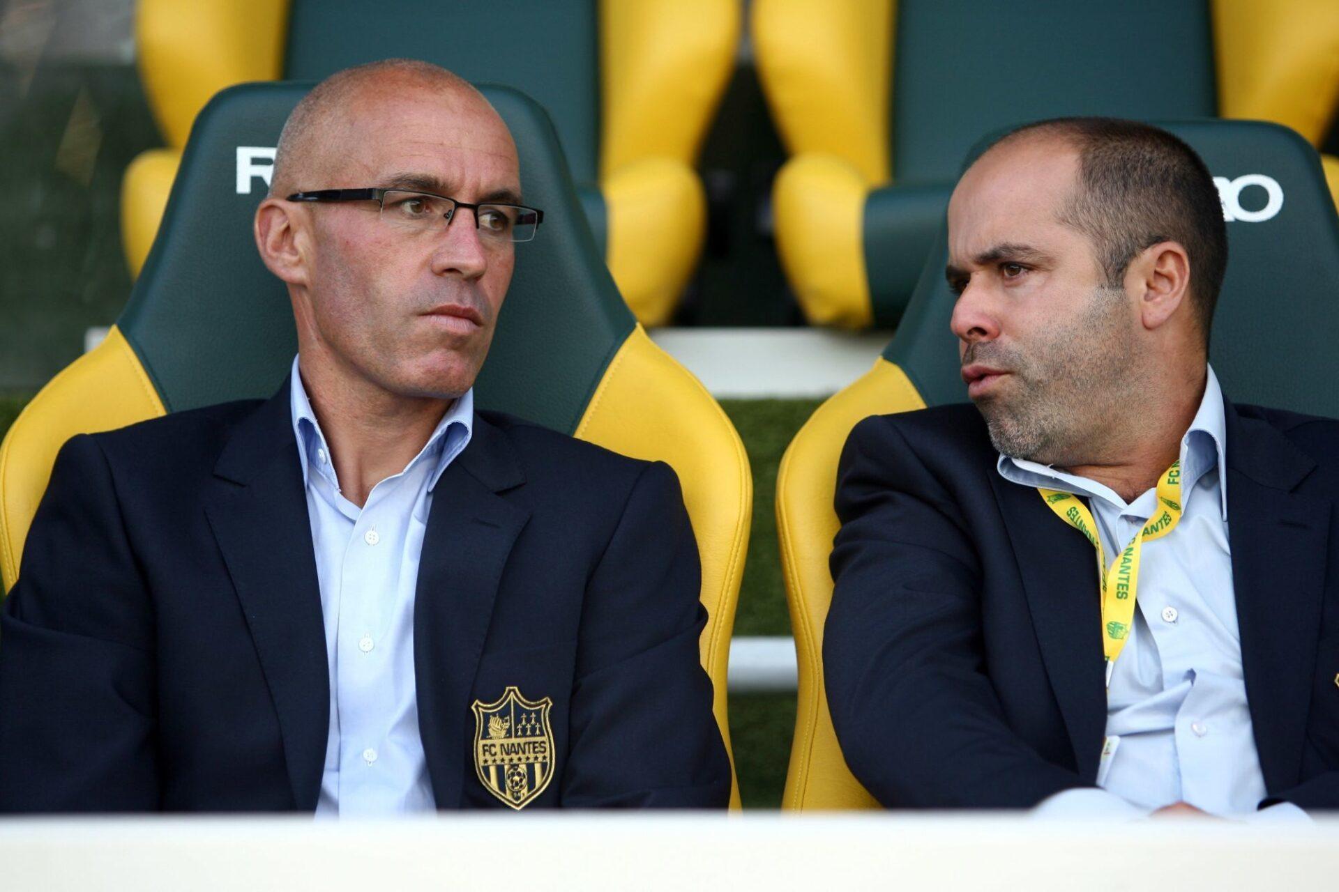 Stépahen Ziani (à gauche), ancien joueur de Nantes, est l'entraîneur de l'équipe réserve des Canaris @iconsport