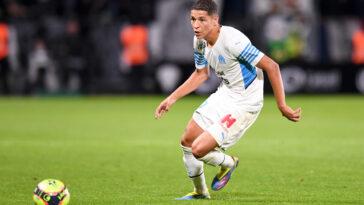 Amine Harit sous les couleurs de l'OM (Icon Sport)
