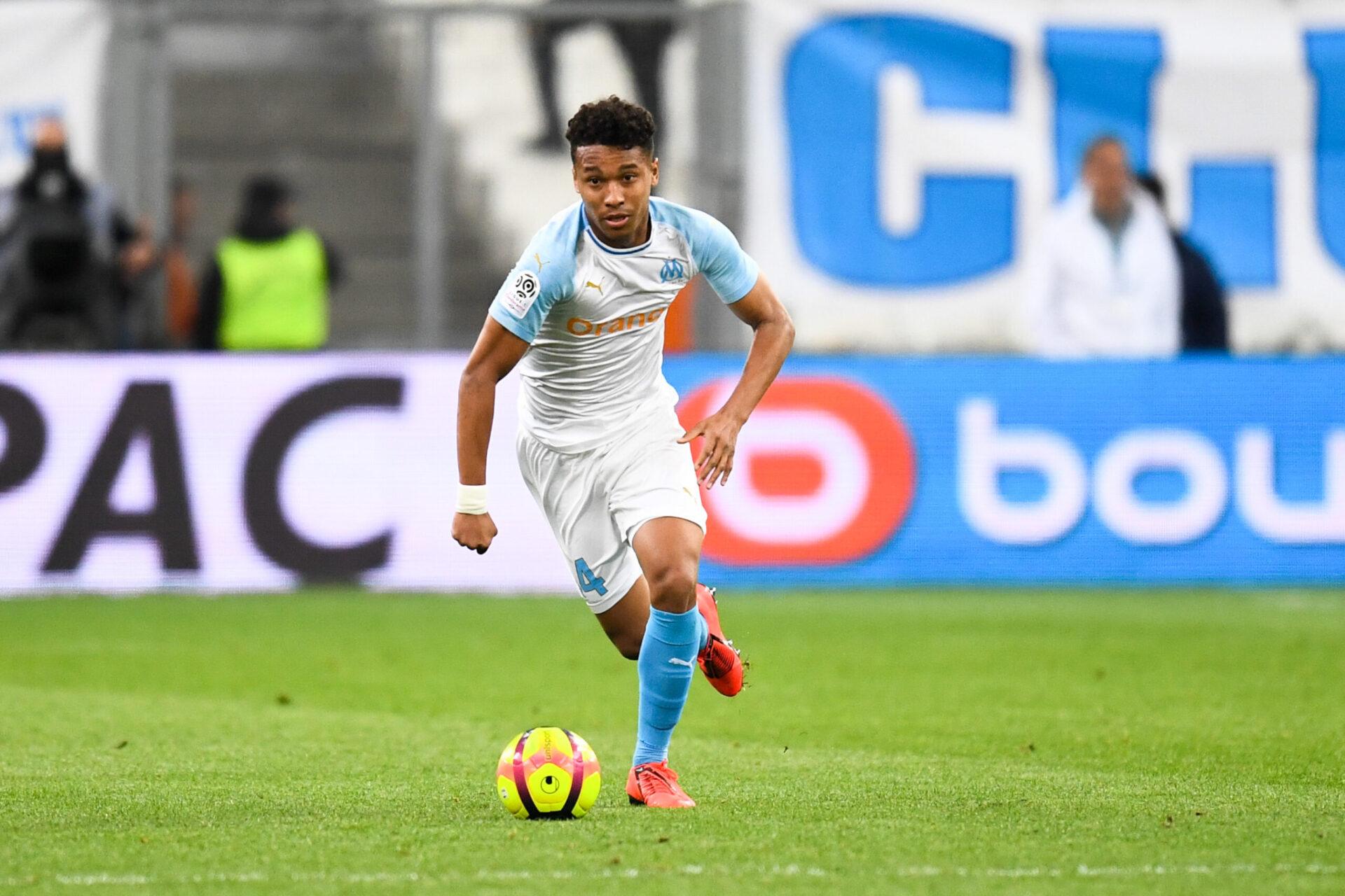 Boubacar Kamara commençant sa carrière de footballeur en Ligue 1 avec les Marseillais (Icon Sport)