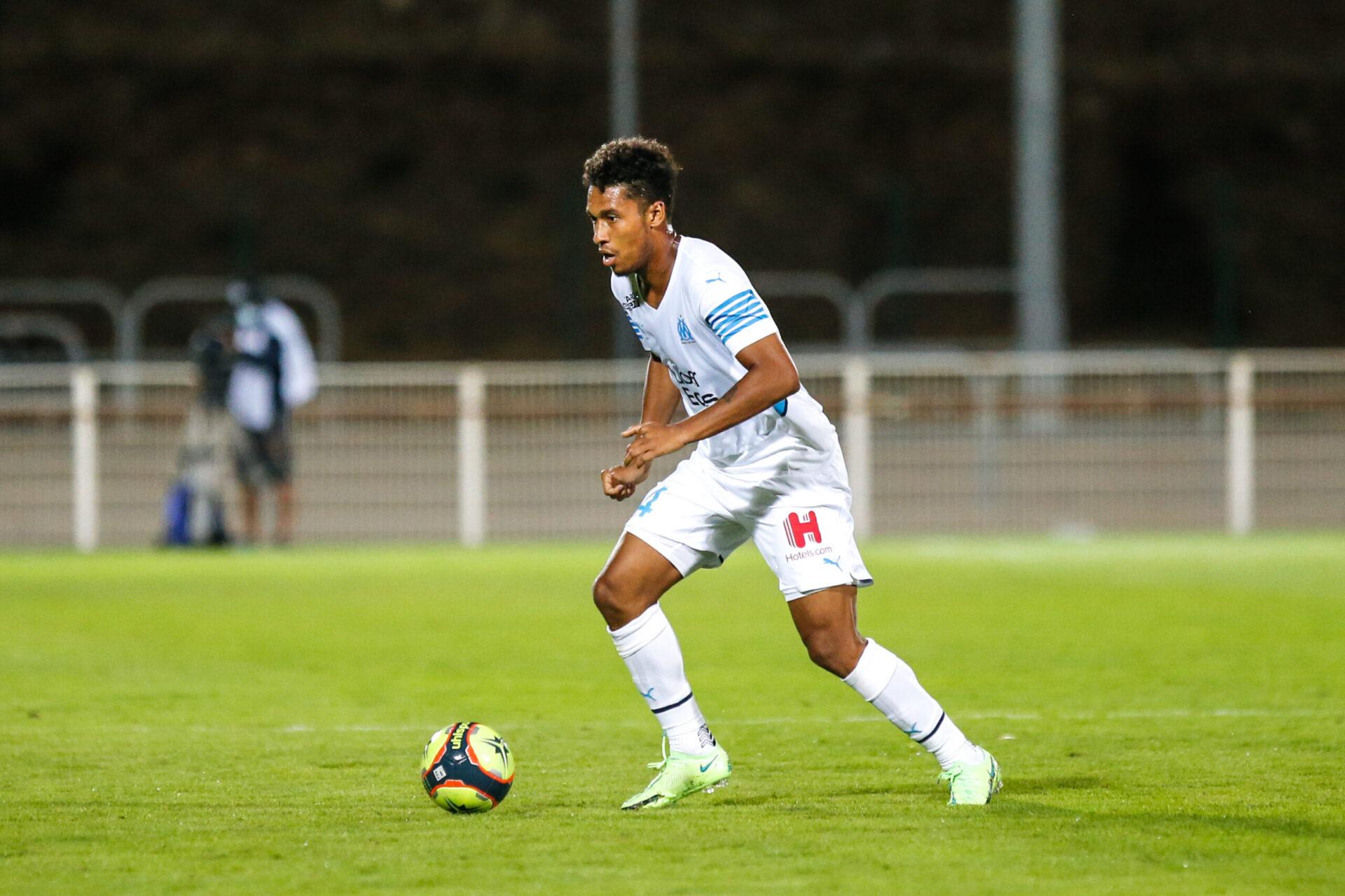 Boubacar Kamara jouant avec les Phocéens (Icon Sport)